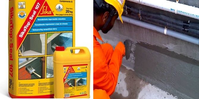 SikaTop Seal 107 chống thấm hiệu quả cho các công trình