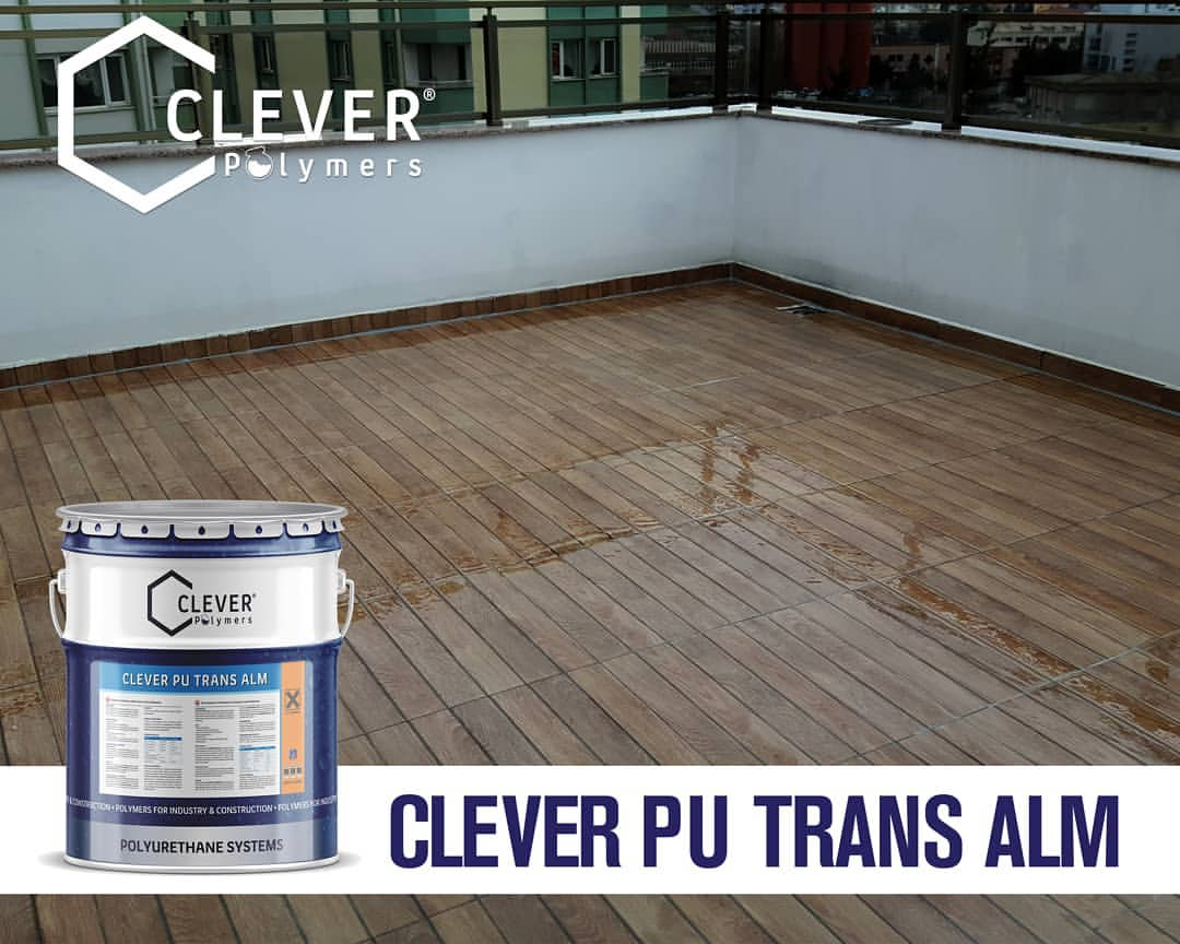 Clever PU Trans ALM: Màng chống thấm Polyurethane trong suốt