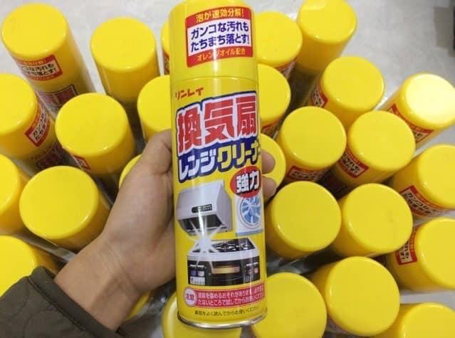 Chai xịt tẩy rửa mảng bám siêu năng Rinrei Nhật Bản
