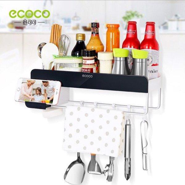Giá để đồ kèm khăn treo ECOCO đa năng