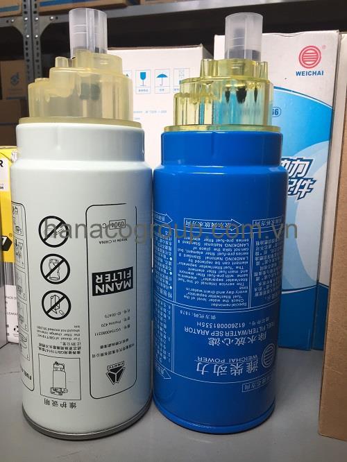 Lọc nhiên liệu tách nước PL420