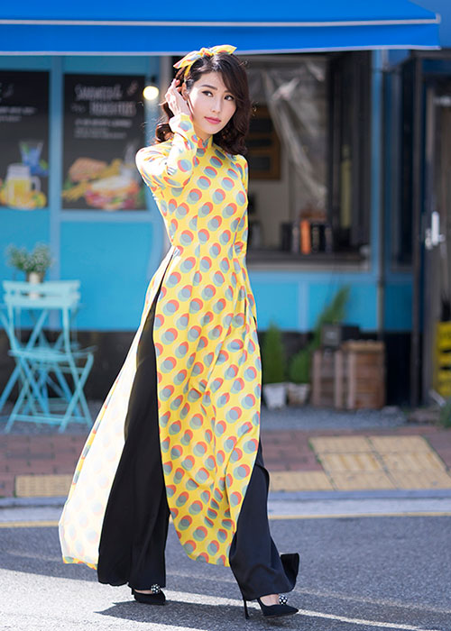 Áo dài Cô Ba Sài Gòn 6