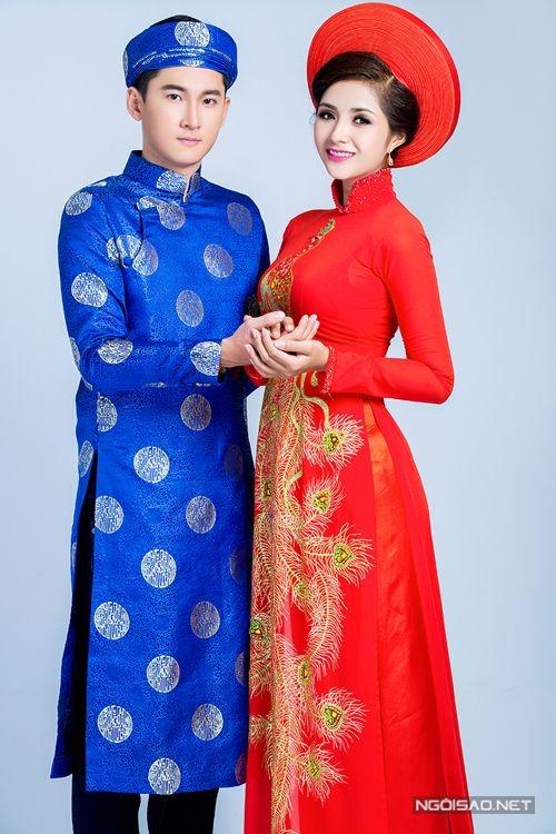 Áo dài cưới nam nữ