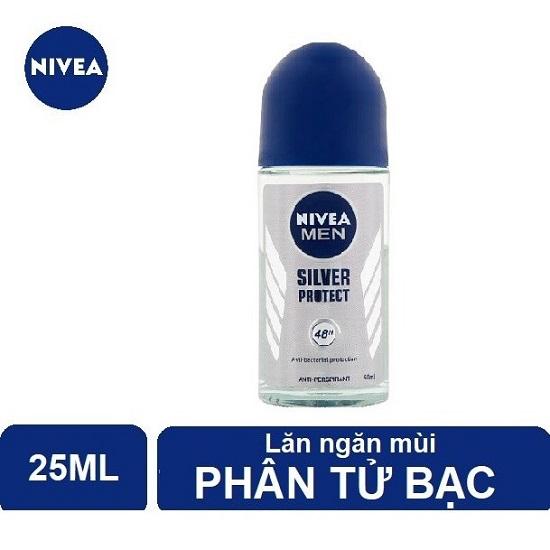 Lăn Nivea Men Silver Protect 50ml