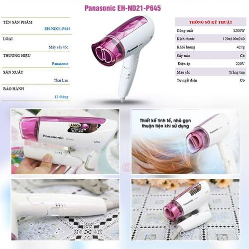 Máy sấy tóc Panasonic EH-ND21-P645