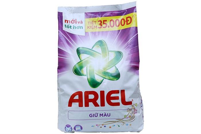 Bột giặt Ariel sạch nhanh giữ màu 4.1kg
