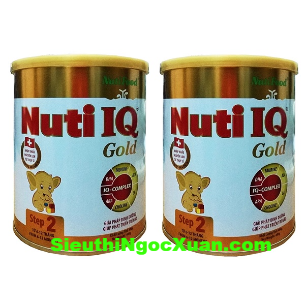 Sữa bột nuti IQ gold 2-400g