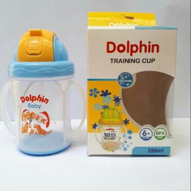 Bình tập uống Dolphin DP023B -  250ml (Cái)