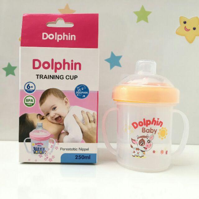 Bình tập uống Dolphin DP-023A 250ml (Chiếc)