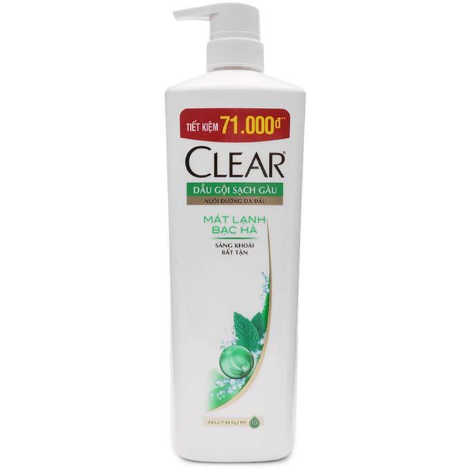 DG Clear mát lạnh bạc hà 900g