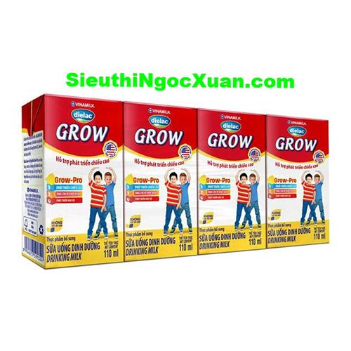 Sữa bột pha sẵn Dielac Grow 110ml