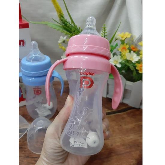 Bình sữa Silicon Dolphin DP-044 240ml (Bình)
