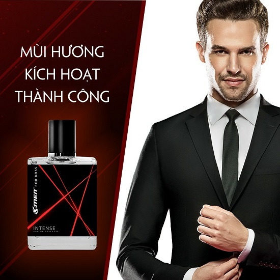 Nước hoa EDT X-Men for Boss Intense 49ml