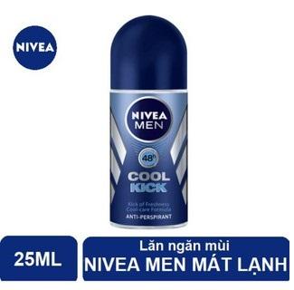 Lăn khử mùi Nivea men mát lạnh