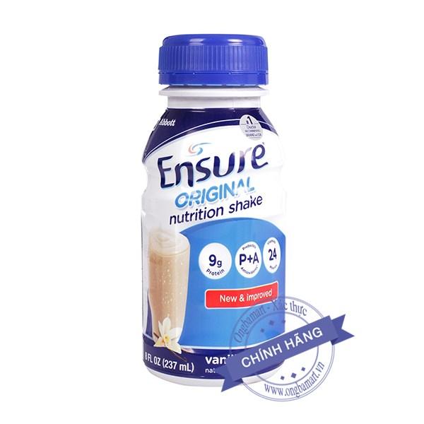 Sữa Ensure Original 237ml