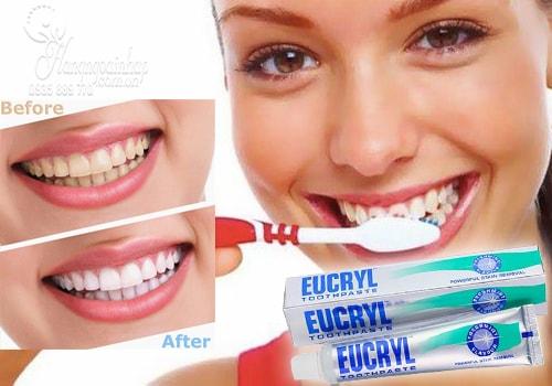 Kem đánh răng EUCRYL 50 ml