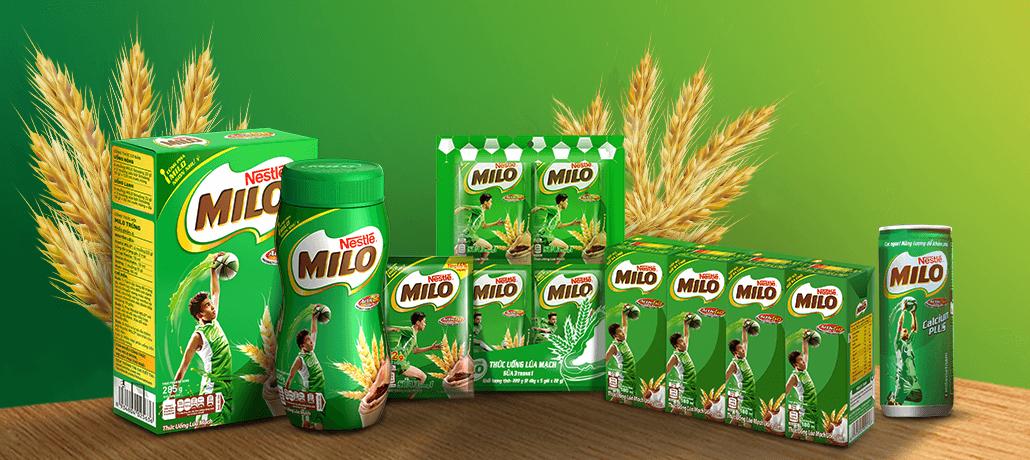 Sữa Milo vỉ 4 hộp* 180ml