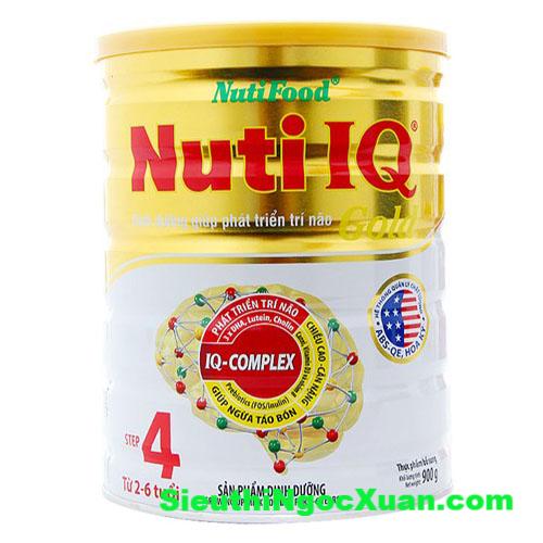 Sữa bột Nuti IQ Gold step 4 - 900g