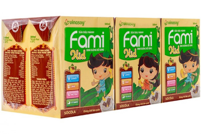 Sữa Fami kid sôcola 200ml
