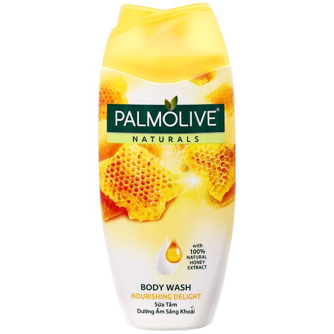 Sữa tắm Pamolive sữa và mật ong 200ml