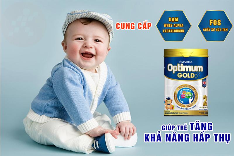 Sữa bột Optimum Gold 2 400g