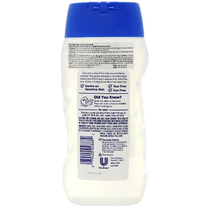 Sữa tắm Suave kids 355ml