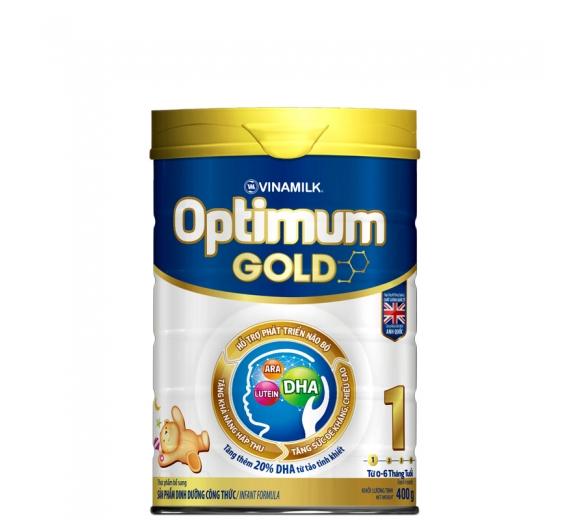 Sữa bột Optimum Gold 1 400g