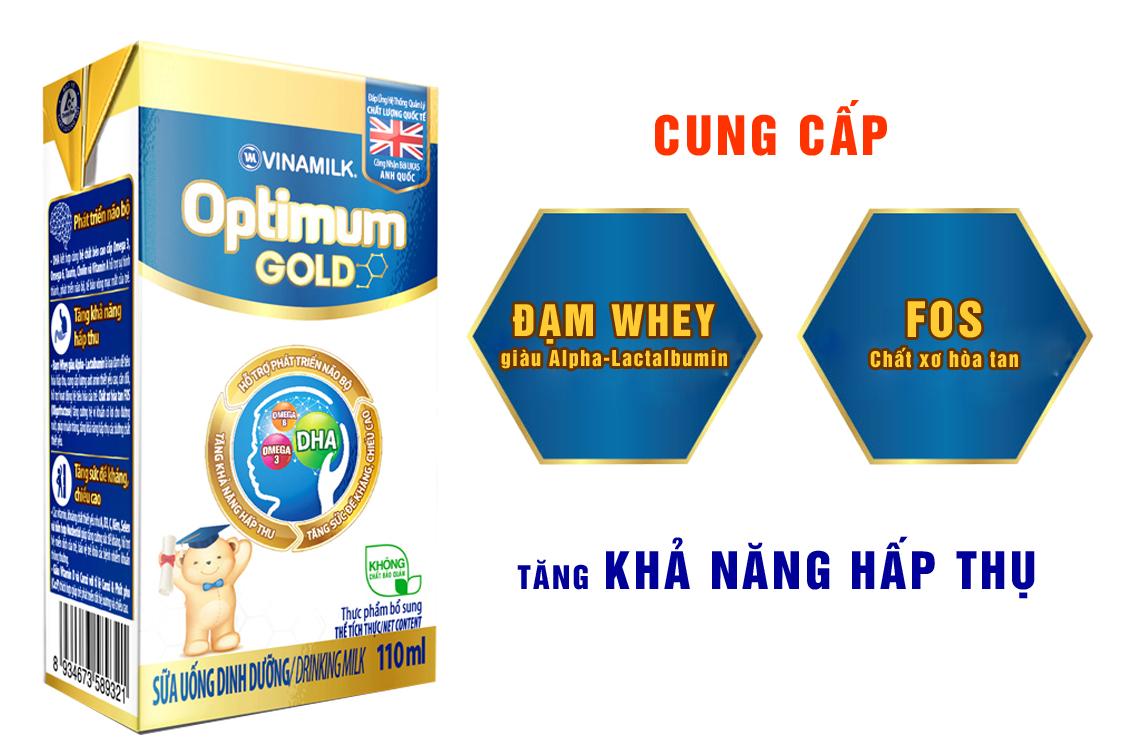 Sữa bột pha sẵn Optimum Gold 110ml