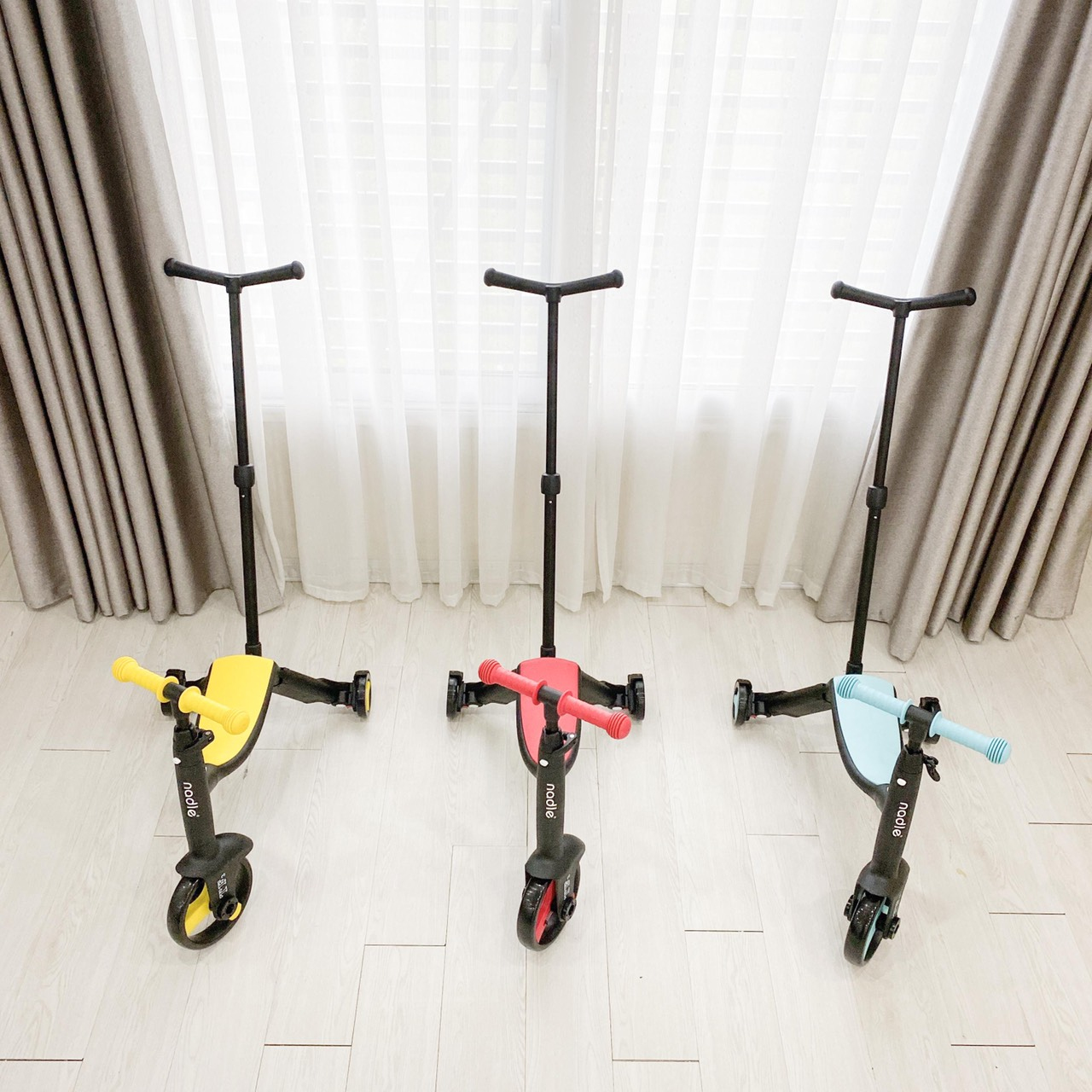 Xe trượt Scooter Nadle 3 trong 1