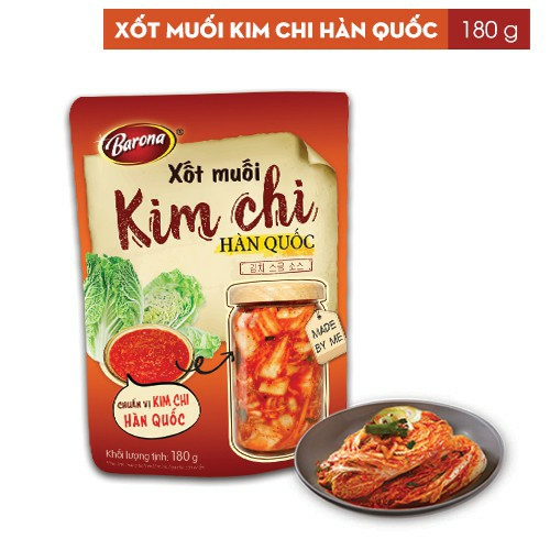 Xốt muối Kim chi Hàn Quốc Barona (180g)