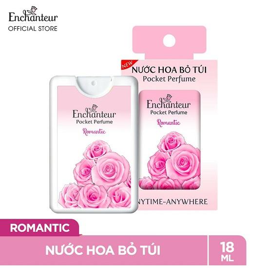 Nước hoa bỏ túi Enchanteur - 3 mùi hương  (18ml)