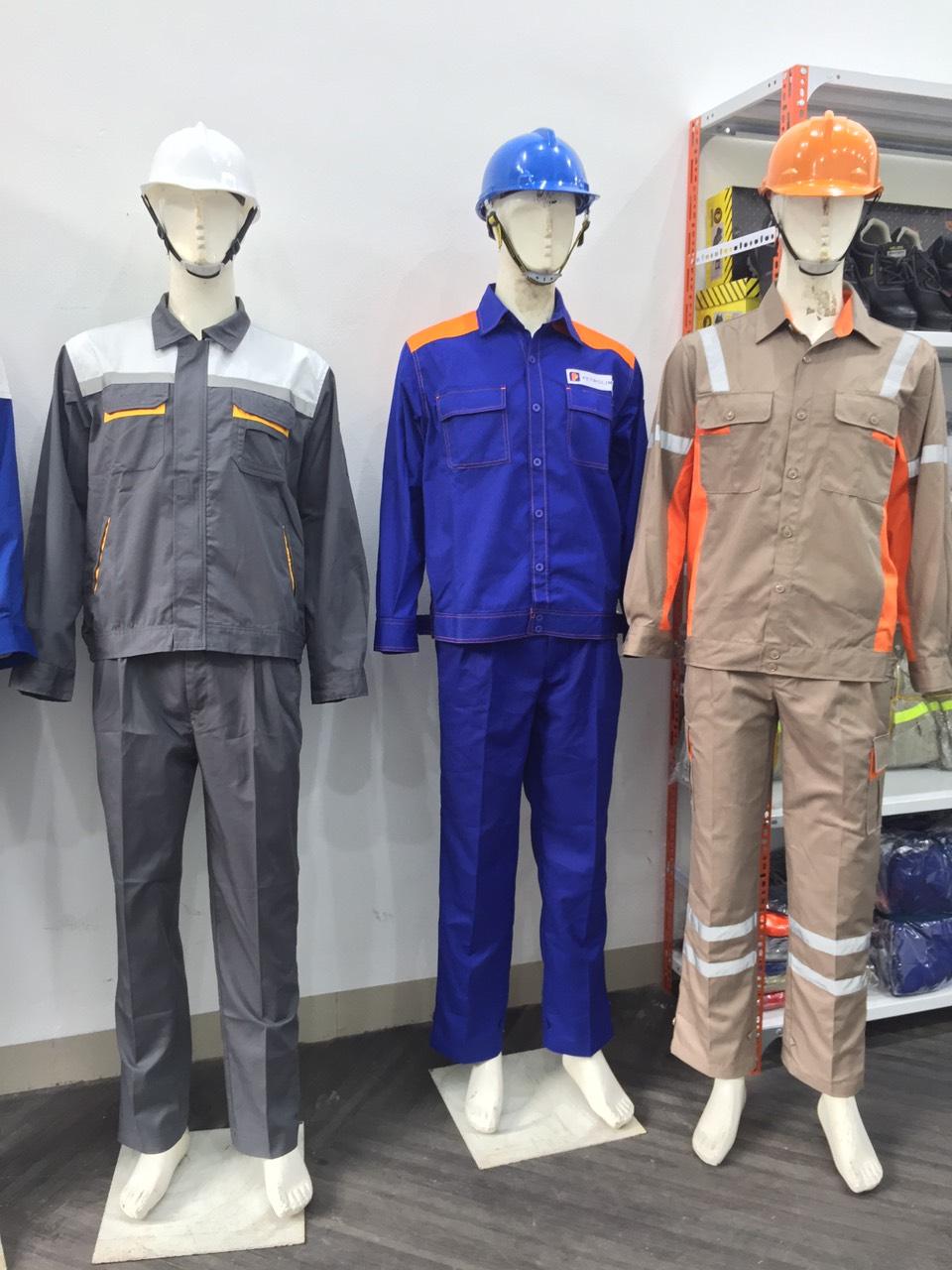 Quần áo bảo hộ lao động vải Pangrim Hàn Quôc