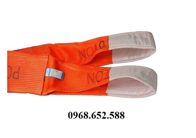 Dây cáp vải cẩu hàng24 tấn 6m, Dây cẩu hàng24 tấn 6m Hàn Quốc