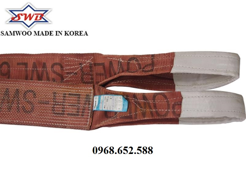 Dây cáp vải cẩu hàng loại 6 tấn - 5m, Dây cẩu hàng 6 tấn