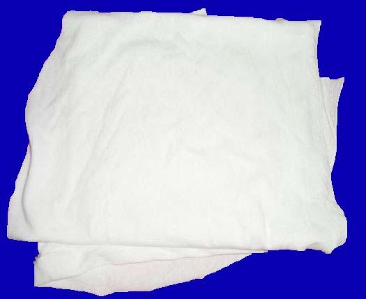 Giẻ lau cotton trắng