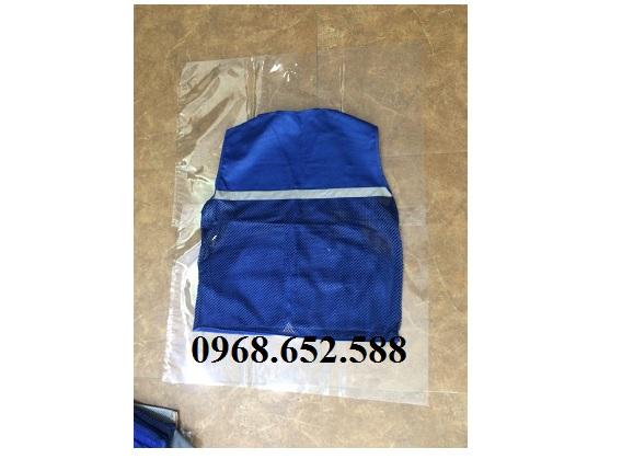 Áo gile (JILE) bảo hộ lao động 8 túi