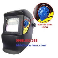 Mũ bảo hộ lao động | Mặt nạ hàn điện tử, Mặt nạ hàn điện tử WH8511
