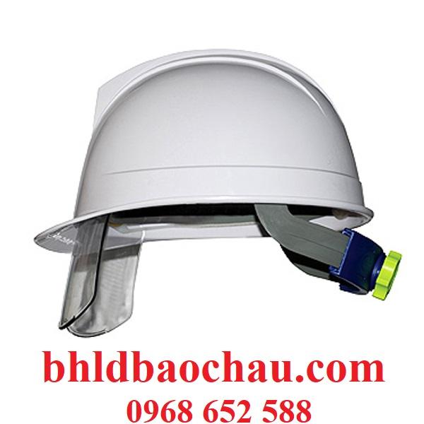 Mũ bảo hộ lao động| Mũ bảo hộ lao động có kính SAHM - 1313