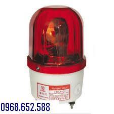 Đèn xoay cảnh báo 220V, đền quay cảnh báo, đèn xoay cảnh báo có còi hú