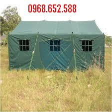 Nhà bạt quân đội 30m² | Nhà bạt cơ động | Nhà bạt trung đội
