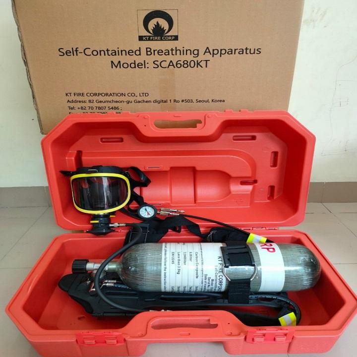 Mặt nạ và bình dưỡng khí, Mặt nạ và bình dưỡng khí Hàn Quốc SCA680KT