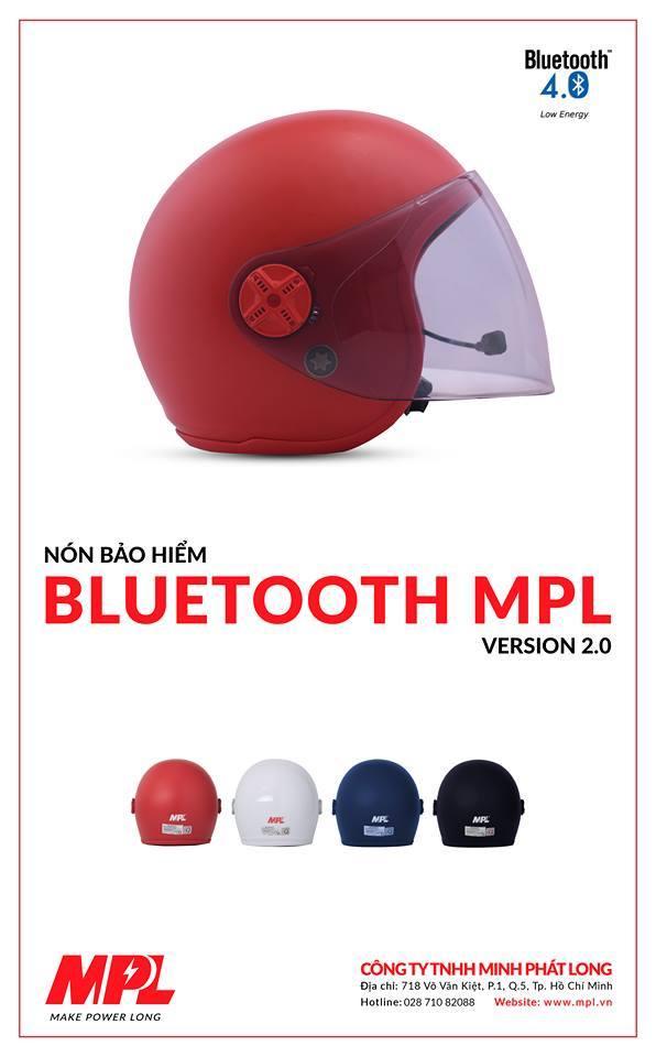 Mũ bảo hiểm bluetooth