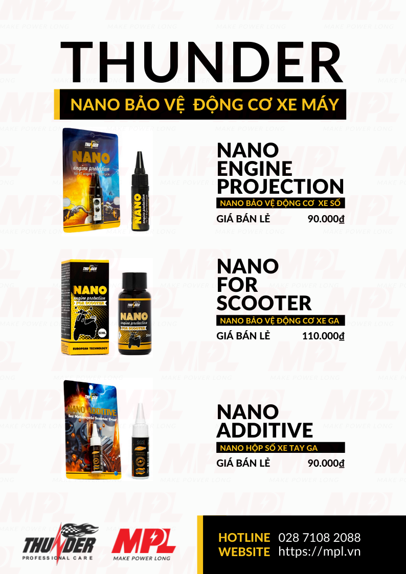 THUNDER NANO ENGINE PROTECTION