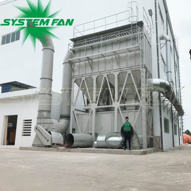 Hệ thống hút bụi xưởng gỗ