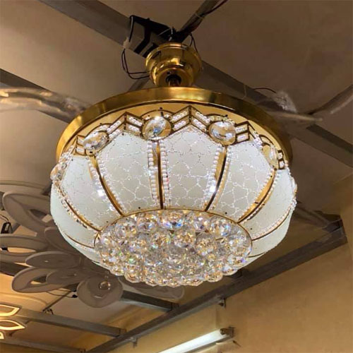 Quạt trần đèn trùm LCC 142
