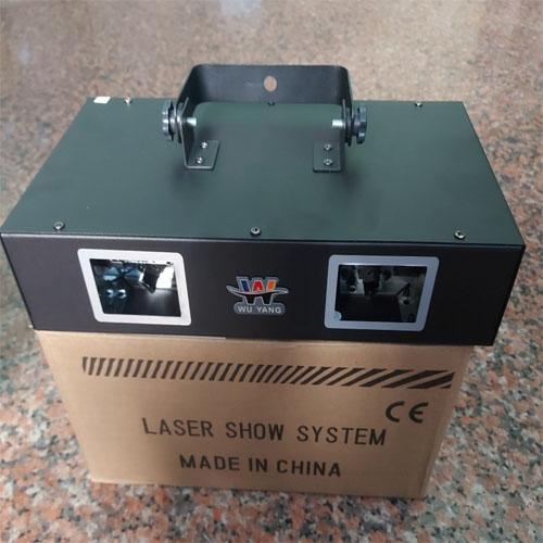 Đèn laser 2 cửa wuyang 7 màu