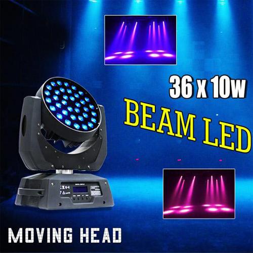 Đèn moving 36 ×10W RGBW 4in1