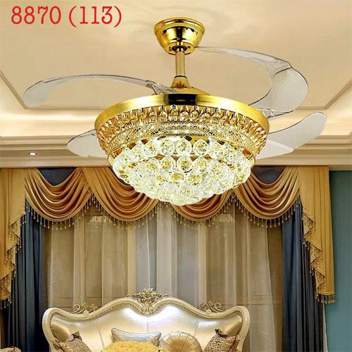 Quạt trần đèn 8870