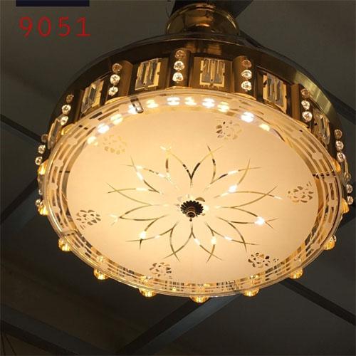 Quạt trần đèn chùm 9051