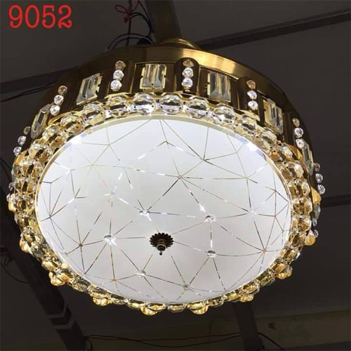 Quạt trần đèn chùm 9052